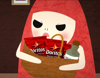 Dorito Red Riding Hood