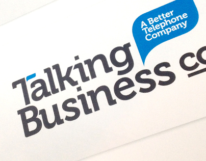Talking Business Co. Branding