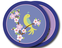 FLORAL   Bird Blossom Collection
