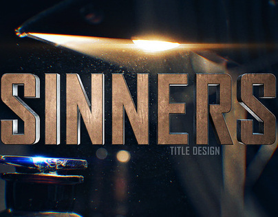 The Sinners Main title design