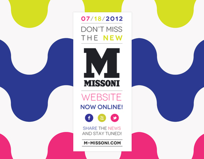 M MISSONI WEBSITE