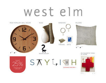 West Elm Redesign Pitch