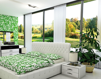 Bedroom Interiors - Visualization