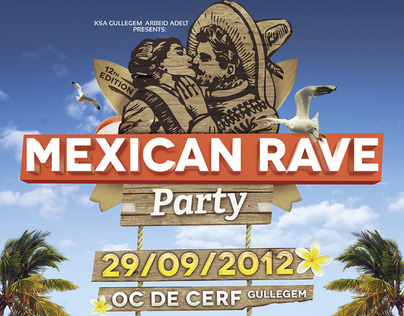 Mexican Rave Party 2012