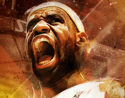 LeBron James Golden Season Wallpaper