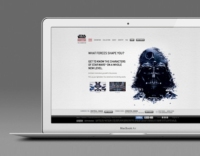 Star Wars Identities: The Exhibition - Website