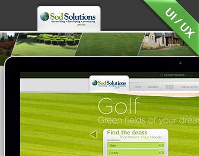 Sodsolutions / interface design