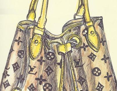 LV Handbags July-Aug 2012 Drawings
