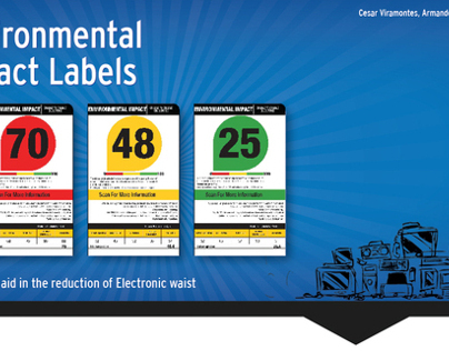 E-waste reduction label