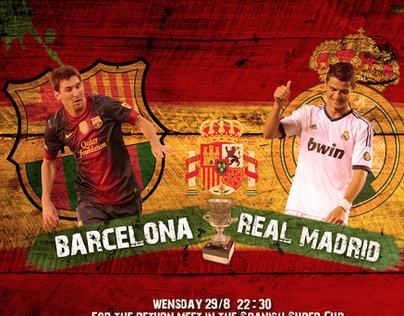 Real madrid VS Barcelona (29/8)