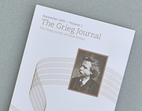 The Grieg Journal, Volume 1
