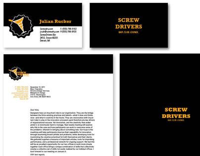 Screwdrivers Bar Identity System
