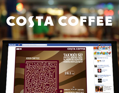Costa Coffee FB Game