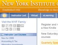 website: New York Institute of Finance