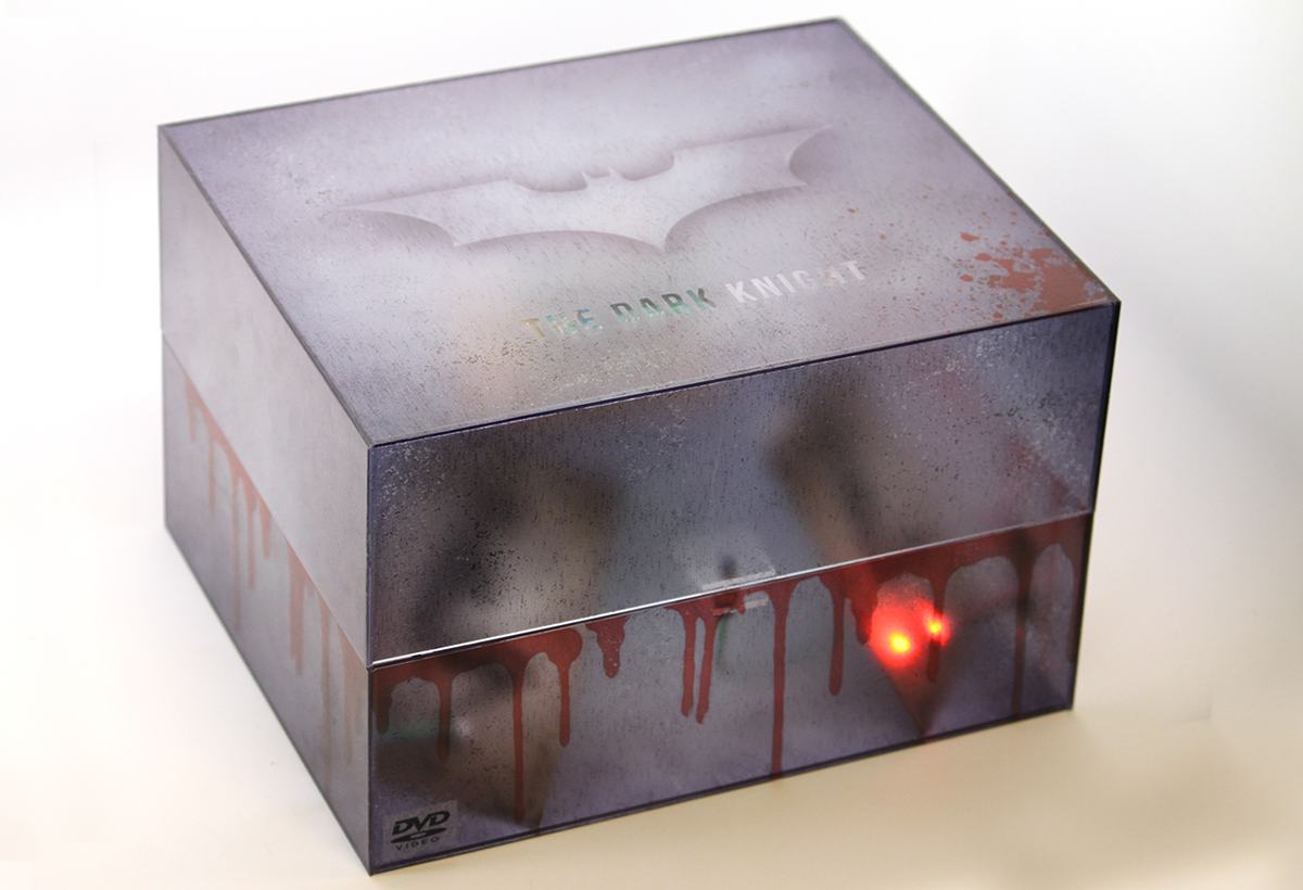 The Dark Knight DVD Packaging Collectors Edition