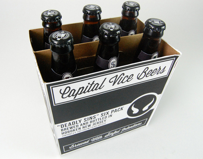 "Capital Vice ""Deadly Sins"" Six Pack"