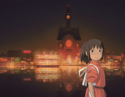 Spirited Away movie intro