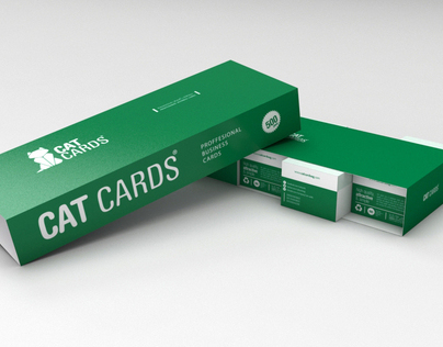 Cat Cards Packing Presentation
