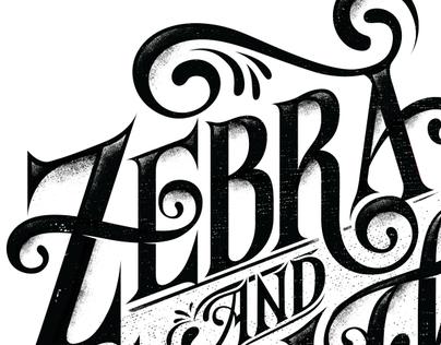 ZEBRA & GIRAFFE - T SHIRT DESIGN
