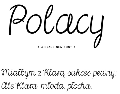 Polacy Font