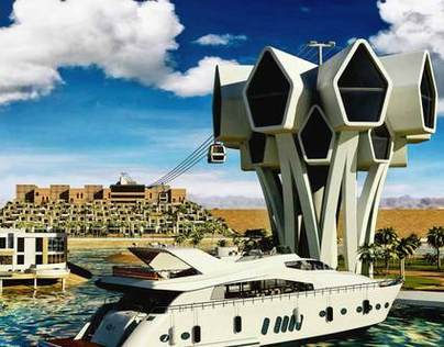 tourist resort in Ras Al Khaimah, UAE