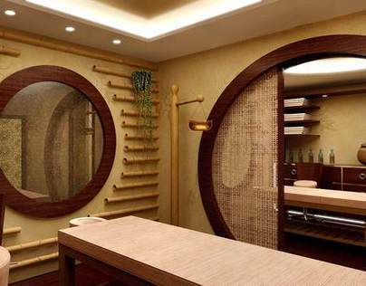 massage rooms, SPA  Caldera Blue Hotel