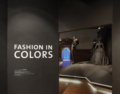 Cooper-Hewitt. Fashion in Colors. Exhibit Design