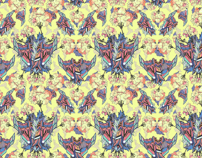 Wallpaper pattern design 12 Edouard Artus ©2012