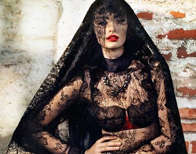 7. Elle Magazine Fashion Editorial / La Mala Educaciòn