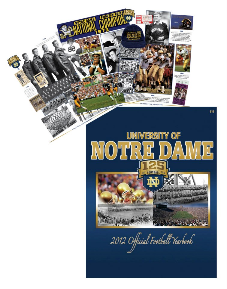 University of Notre Dame 125 Years of Football