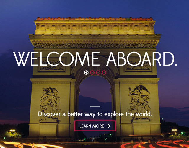 Viking River Cruises Site Redesign