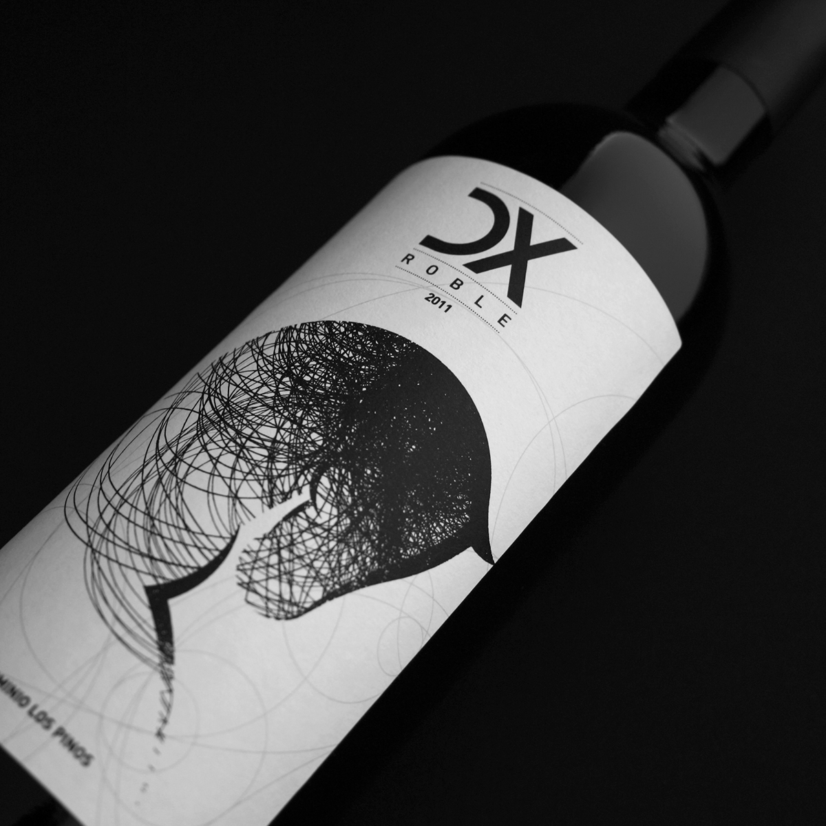 Label design & Identity · DX Roble · Bodegas Los Pinos