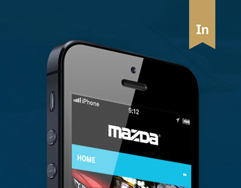 Mazda iPhone Mobile Site