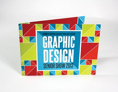 Graphic Design Senior Show