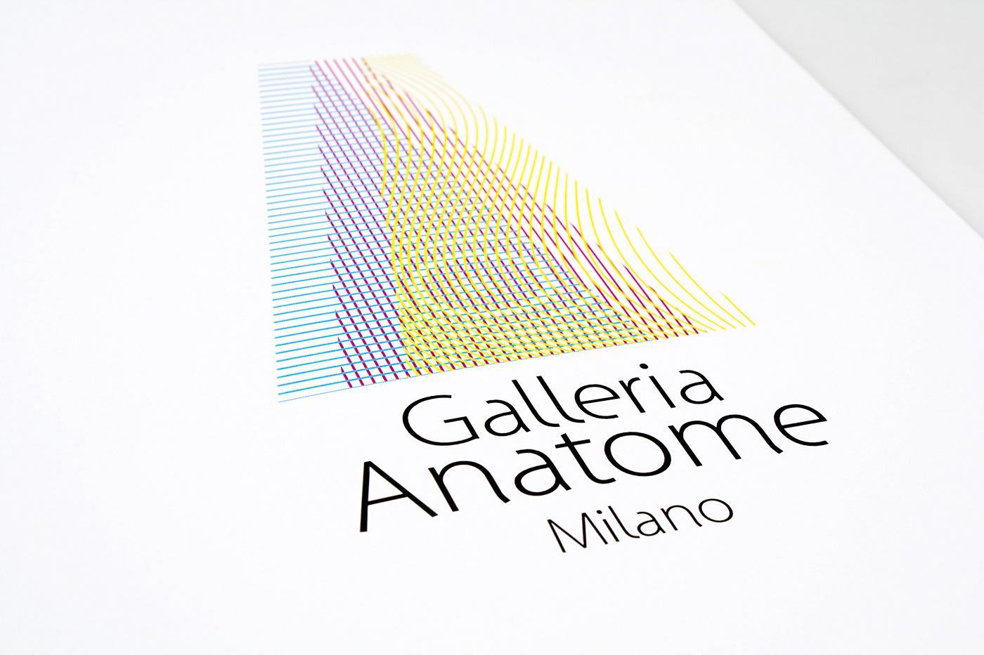 Branding: Galleria Anatome Milano
