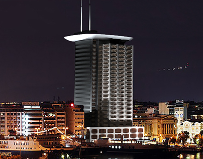 Piraeus Tower,  Port of Athens