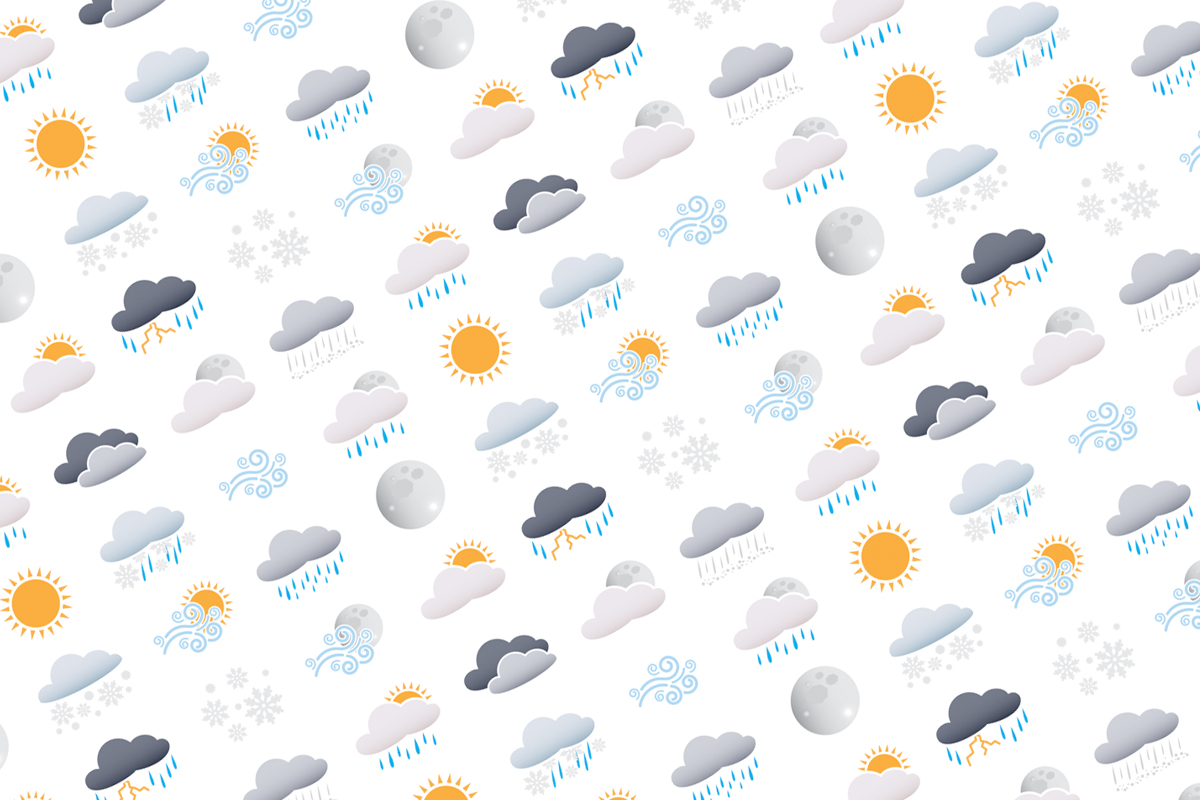Custom Weather Icons