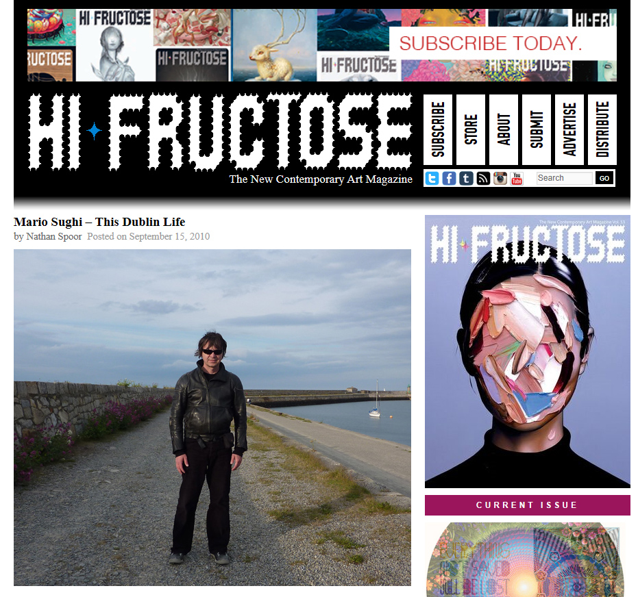 Mario Sughi interviewed by Hi Fructose