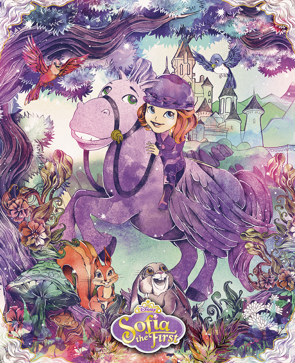 Disney Calendar Illustrations