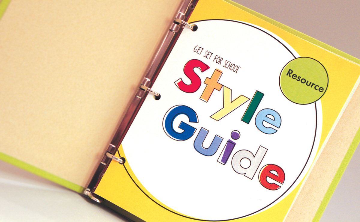 Get Set for School Pre-K Style Guide