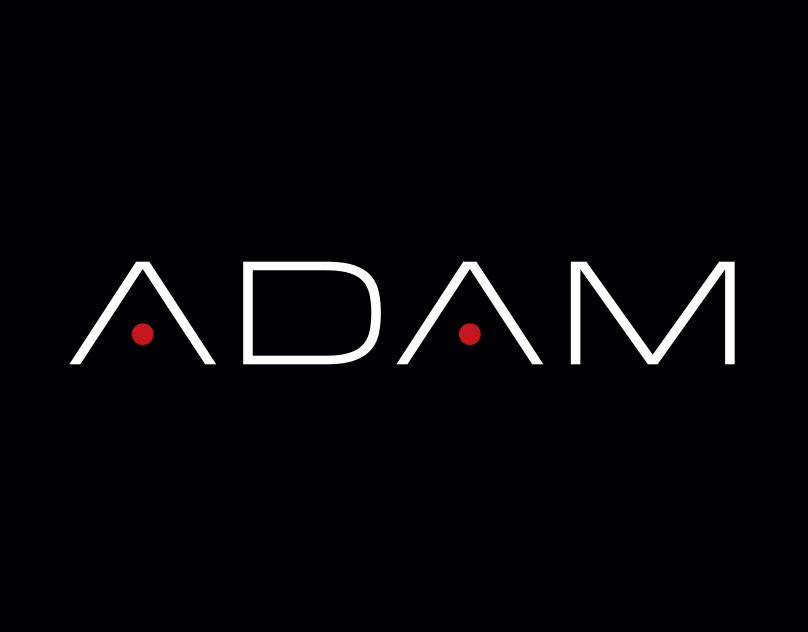 Packaging: ADAM cologne logo & package