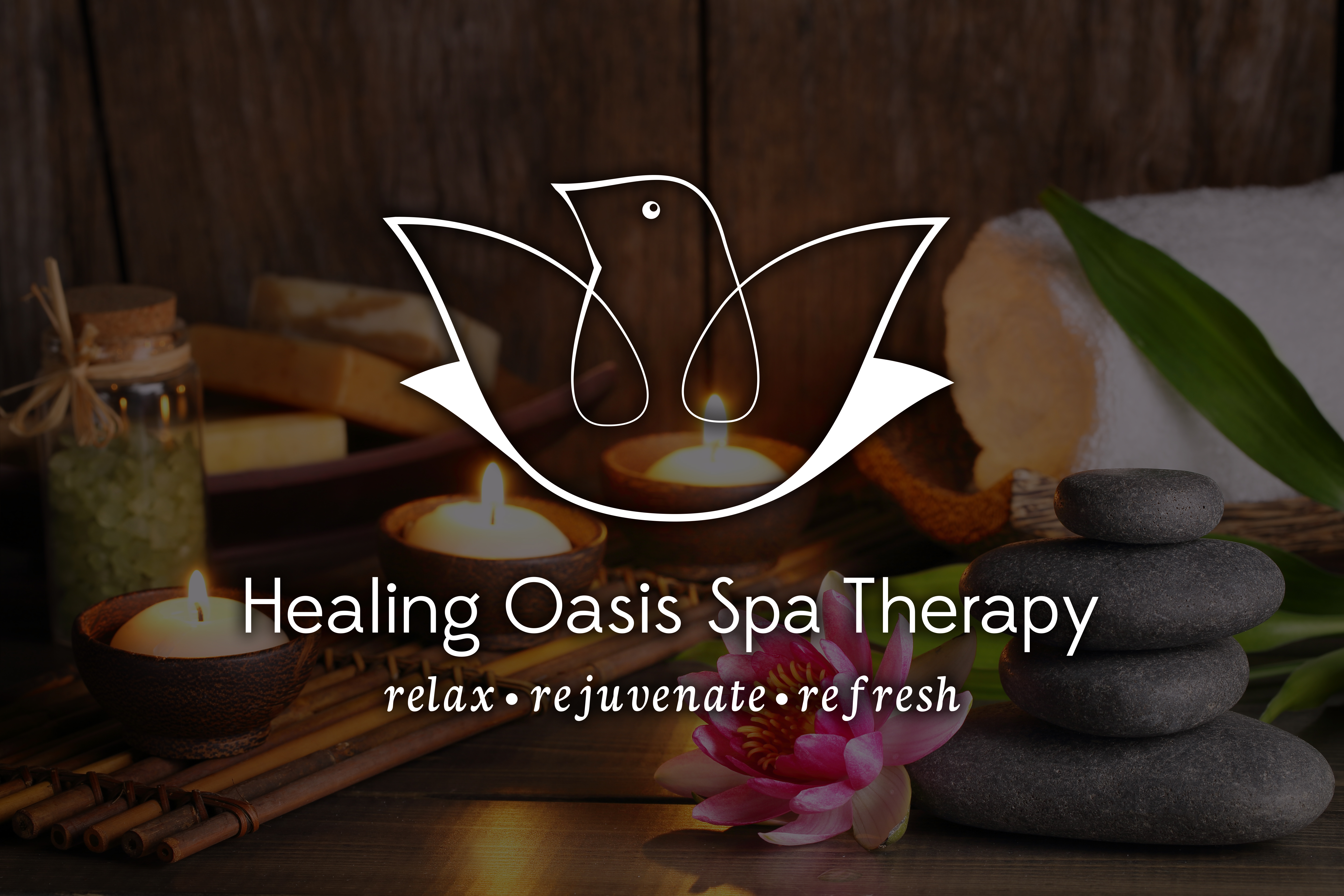 Healing Oasis Spa Therapy Logo