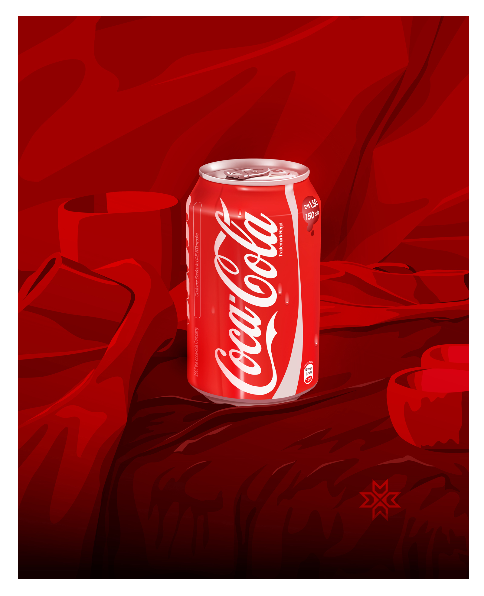 #Illustration cola