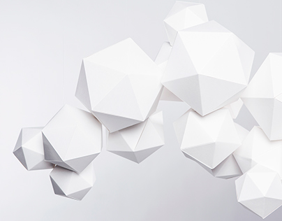 "Paper mobile ""Cloudy"""