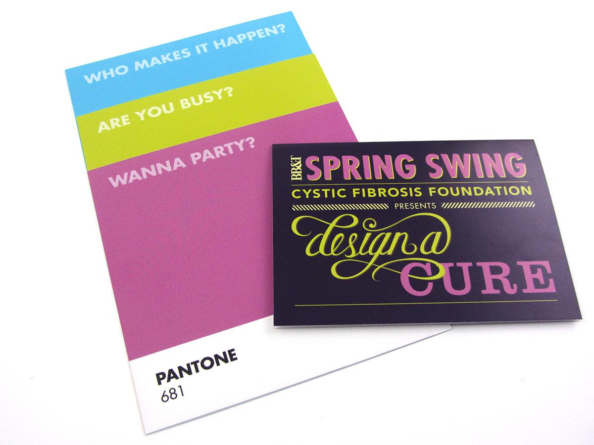 2014 Spring Swing Invitation