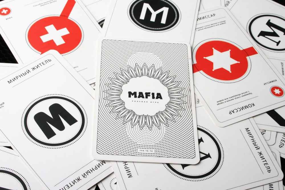 Mafia playing cards