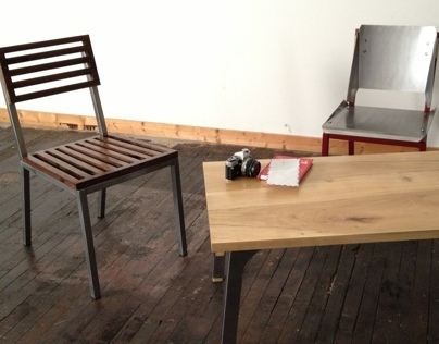INDUSTRIAL DESIGN :: FOUNDATION FURNITURE :: 2012
