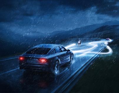 Audi Xenon Lights | StudioNuts