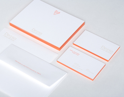Identity Design for Dezso by Sara Beltran