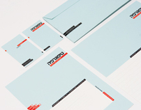 Typography Stationery by Moshik Nadav